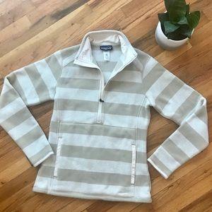 Patagonia 1/2 Zip Striped Sweater